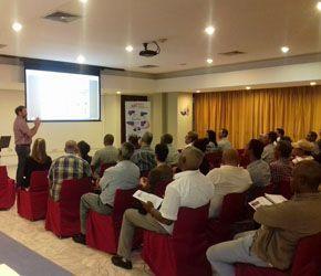 Jornada de conferencias del Grupo Vasco De Transmisiones en LA HABANA