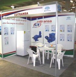 COTRANSA presente en la Feria FECONS de LA HABANA